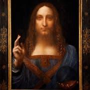 """Der """"Salvator"""" entstand nach 1507 in der Werkstatt Leonardo da Vincis. (Bild: PD/Christie's Images/Bridgeman Images)"""