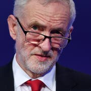 Chef der Labour-Party Jeremy Corbyn. (Bild: EPA/ANDY RAIN)