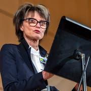 Alt Bundesrätin Micheline Calmy-Rey. (Bild: Martial Trezzini/Keystone (Genf, 26. September 2018))
