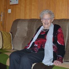 16. Februar: Katharina Guntli aus Grabs feiert heute ihren 100. Geburtstag. Sie wohnt noch im selben Haus, in dem schon ihre Mutter, sie und ihre Tochter geboren wurden. Bild: Alexandra Gächter