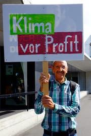 Hans-Ruedi Achtnich (69) aus Frauenfeld. (Bild: Rahel Haag)