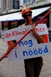 Florian Müller (37) aus Berg. (Bild: Rahel Haag)