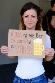 Carmen Lipari (33) aus Islikon. (Bild: Rahel Haag)