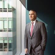 UBS-CEO Sergio Ermotti: Seine Bank senkt per 1. Juni dieses Jahres den Zins auf dem Sparkonto für Erwachsene auf 0,00 Prozent. Bild: Wei Leng Tay/Bloomberg (Singapur, 17. September 2018)