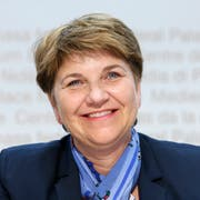Die nominierte Bundesratskandidatin Viola Amherd aus dem Wallis.