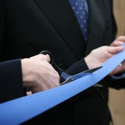 Cutting of the ribbon at New Business venture