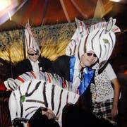 Bild vom Guuggali 2007, das im KKL Luzern stattfand. Das Motto lautete damals «Zirkus Guuggali». Bild: Mirjam Graf (Luzern, 3.Februar 2007.)