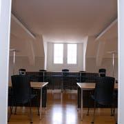 Der Gerichtssaal im Rathaus in Stans. (Bild: Archiv/Markus von Rotz)