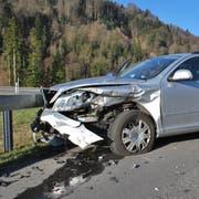 Die Unfallfahrzeuge erlitten Totalschaden. (Bild: Staatsanwaltschaft Luzern, 22. März 2019)
