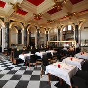 Ein Blick ins Innere des derzeitigen «Restaurant 1871» in der National Halle. Bild: Archiv LZ