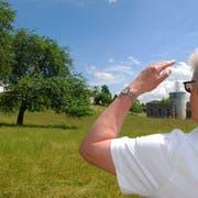 Blick in die Zukunft. Hier im Zentrum von Bronschhofen sollen 78 Alterswohnungen errichtet werden. (Bild: Roland P. Poschung)