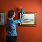 Leinen los für die grosse Turner-Schau im Kunstmuseum Luzern. (Bild: Dominik Wunderli, Luzern, 3. Juli 2019)
