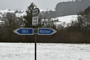 Wohin des Weges? Die Verkehrsführung im Lerchenfeld gibt Anlass zu Diskussionen. (Bild: Anina Rütsche)