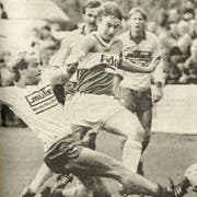Armin Bischofberger lief in 55 Meisterschaftsspielen für den FC St.Gallen auf. (Bild: Archiv «St.Galler Tagblatt»)