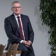 Rolf Born (56) ist Gemeindepräsident von Emmen und präsidiert den Verband der Luzerner Gemeinden seit Juni 2017. (Bild: Pius Amrein, 6. November 2018)