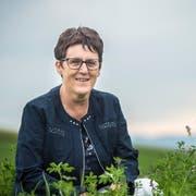 Die gelernte Pflegefachfrau aus dem Toggenburg fühlt sich in Affeltrangen Zuhause. (Bild: Reto Martin)
