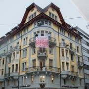 Viele Wohnungen an der Waldstätterstrasse werden über Airbnb kommerziell vermietet. Daran stört sich die SP. (Bild: Beatrice Vogel, Luzern, 6. August 2019)