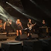 Die Toggenburger Band Pickaback ist trotz Schwierigkeiten beim Soundcheck zufrieden mit ihrem Auftritt an den Jazztagen. (Bild: PD)