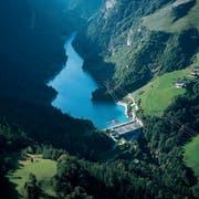 In der Zentrale Mapragg am Gigersee bei Pfäfers produziert die Axpo fast einen Drittel des gesamten St.Galler Wasserstroms. (Bild: PD)