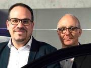 Die Geschäftsführer Gianfranco Cirillo und Luigi Cescato.