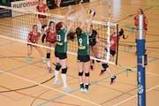 Volley Toggenburg konnte die Niederlage im letzten Spiel der Saison nicht abwenden. Nun gehts in die verdiente Pause (Bild: Beat Lanzendorfer)