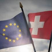 Wie weiter im Verhältnis Schweiz-EU? Heute wird ein Positionsbezug des Bundesrates erwartet. (Bild: Benjamin Manser)