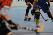 Für die U17-Rollhockey-EM kommt auch ein Spieler des RHC Uri in Frage. (Symbolbild: Urs Hanhart (Seedorf, September 2016))