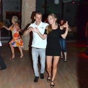 Selbst ein Tanzverein aus Arbon besuchte das Dance Inn. (Bild: Christoph Heer)