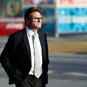 Der CVP-Justizdirektor Beat Villiger bleibt Regierungsrat. (Bild: Stefan Kaiser (Zug, 7. Oktober 2018))