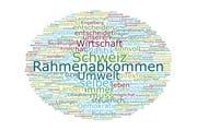 Das Wordle von Monika Rüegger, SVP, Engelberg.