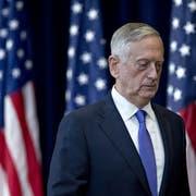 Verteidigungsminister Jim Mattis tritt zurück.Bild: Andrew Harrer/Bloomberg (Washington, 21. Juni 2017)