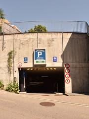 Auch die Tiefgarage Wolfhalden wird zum Schauplatz. (Bild: Michael Hehli)