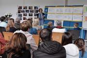 Rebecca Gantenbein gab einen Einblick in das Leben der geschlossenen Wohngruppen. (Bild: Kathrin Meier-Gross)