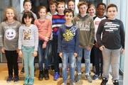Die zwölf Einzelsiegerinnen und Einzelsieger im Raiffeisen-Jugendwettbewerb aus der Stadt St.Gallen. (Bild: PD)