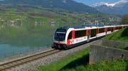Die Innerschweizer Zentralbahn boomt – sie beschafft laufend neue Zahnradzüge beim Thurgauer Schienenfahrzeughersteller Stadler. (Bild: KEYSTONE/Urs Flueeler)