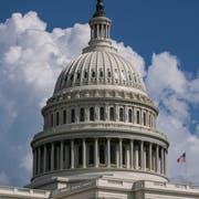 Hier fällt der amerikanische Kongress seine Entscheide: im Capitol in Washington. (Bild: J. Scott Applewhite/Keystone)
