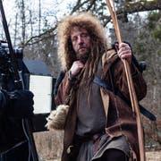"""Luke Gasser hat die Deharbeiten für seinen Film """"Tell - Jagd auf ewig"""" abgeschlossen. Luke Gasser (li) spielt Wilhelm Tell."""
