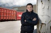 Sein Kerngeschäft hat sonst mit Recycling zu tun, jetzt steigt er in den Fussball ein: Reto Zimmermann wird neuer Investor beim FC Luzern (Bild: Corinne Glanzmann (Stans, 19. April 2016))
