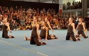 Die Jugend des DTV Weite begeisterte Publikum und Kampfrichter gleichermassen und erreichte im Final den vierten Platz. (Bild: PD)