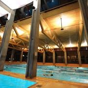 Im Weinfelder Hallenbad verhindern die Betonsäulen eine freie Sicht für die Badmeister. Ein Bub wäre Anfang Jahr fast ertrunken. (Bild: PD)