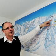 Silvio Schmid war massgeblich am Projekt Skigebietsverbindung Andermatt–Sedrun beteiligt. (Archivbild: PD, 4. Januar 2010)