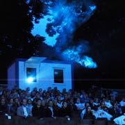 Im Kantipark werden in diesem Sommer keine Filme mehr gezeigt. (Bild: Urs Bucher/10. Juli 2009)