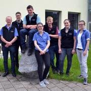 Seilziehen gehört bei der Landjugend Alttoggenburg zum sportlichen Teil des Jahresprogramms. (Bild: Peter Jenni)