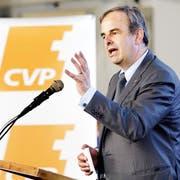 «Unsere Mobilisierungsfähigkeit hat stark zugenommen»: CVP-Chef Gerhard Pfister. (Bild: Keystone)