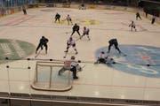 Am Bergholz Weltklasse-Eishockey kamen die Fans vier Tage lang auf ihre Kosten. (Bild: Christof Lampart)