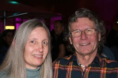Renate Baumgartner und Guido Baumann. (Bild: Sepp Odermatt (Hergiswil, 10. November 2018))