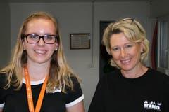 Nadine Müller und Marlies Dönni. (Bild: Sepp Odermatt (Ennetbürgen, 2. Juli 2018))