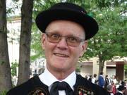 Willy Schuldt, Präsident der Kantonalen Trachtenvereinigung Nidwalden (Bild: Matthias Piazza)