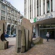 Die St.Galler Kantonalbank hat insgesamt 420'240 neue Namenaktien ausgegeben. (Bild: Coralie Wenger/Archiv)