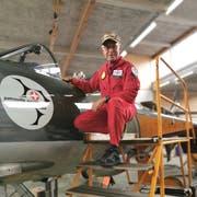 Mit dem neu konzipierten Museum erfüllt sich für den pensionierten Militär- und Linienpiloten ein Lebenstraum. (Bild: Desirée Müller)